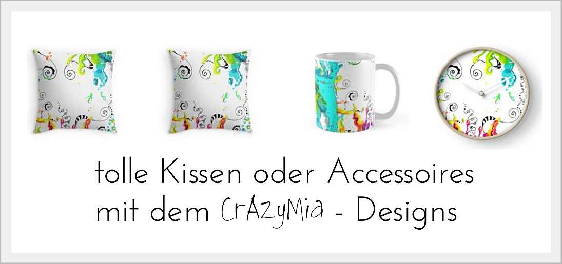 CrAzyMia - Redbubble-Shop